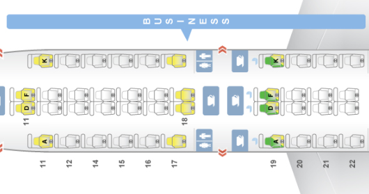 Singapore Airlines Business Class Seat Recommendations