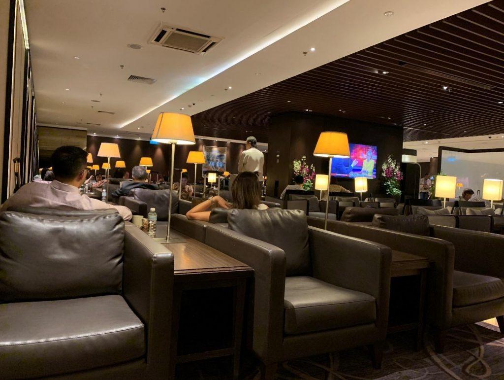SilverKris Lounge Sitting Area