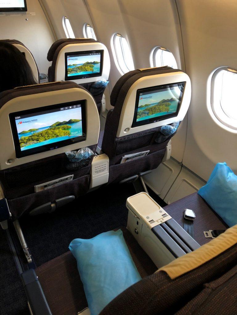 Philippine Airlines A330 Premium Economy In-flight Entertainment