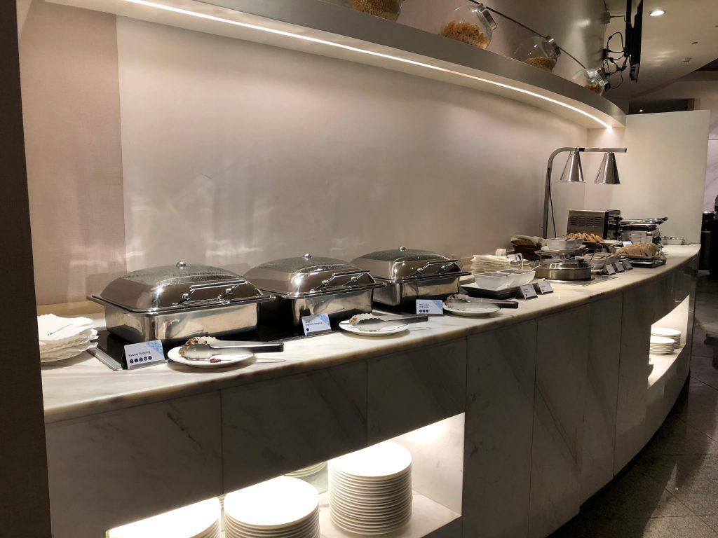 Mabuhay Lounge Hot Dish Table