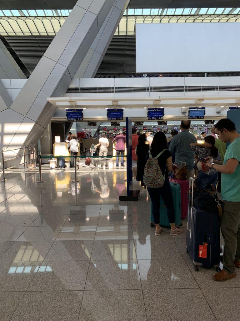 NAIA Terminal 3 Check-In