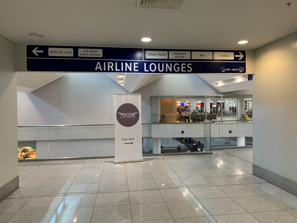 Directions to Airline Lounges
