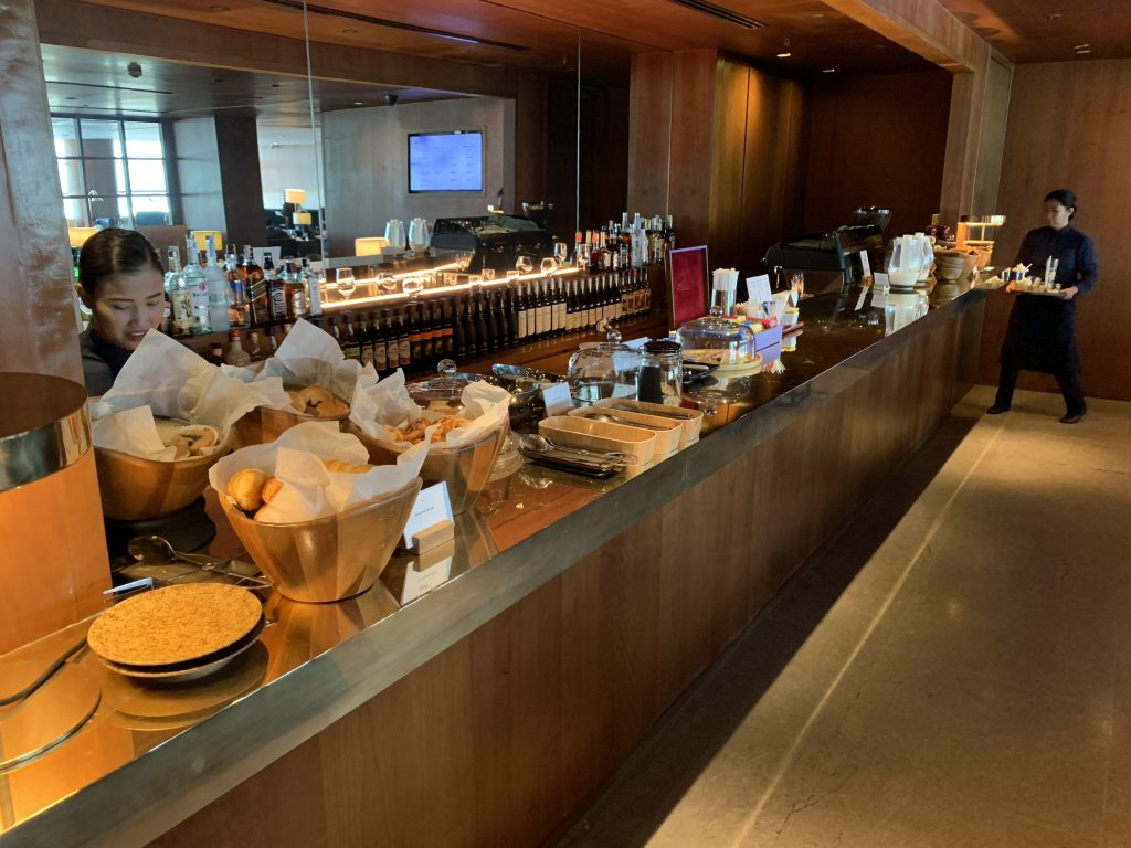Cathay Pacific Lounge Self Service Bar