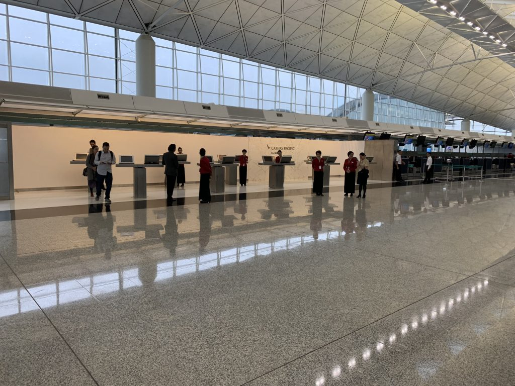 Hong Kong International Airport Automated Check In