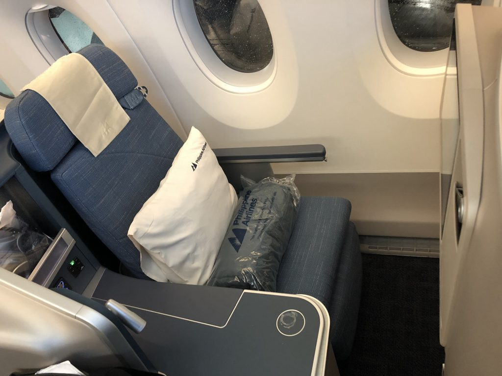 Philippine Airlines Business Class Seat