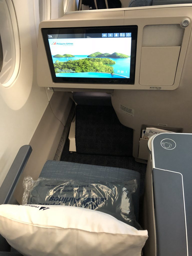 Philippine Airlines Business Class In-flight Entertainment