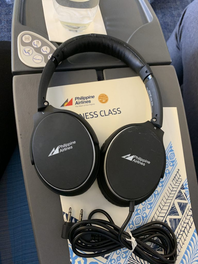 Philippine Airlines Business Class Headset