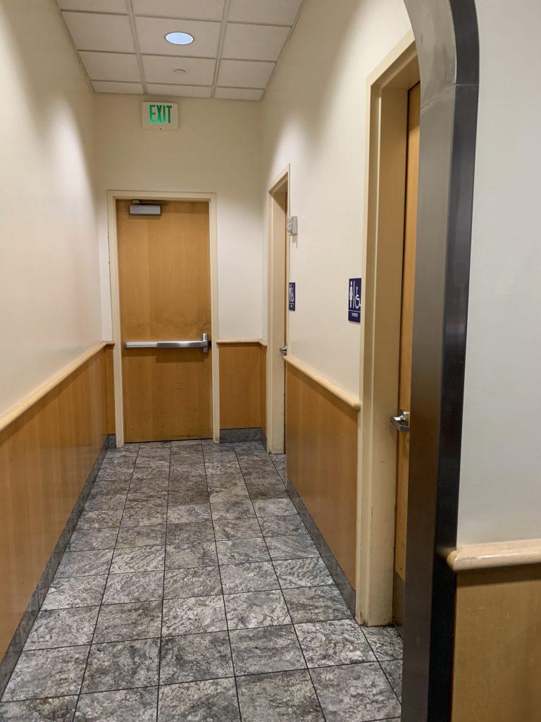 San Francisco International Airport Mabuhay Lounge Restrooms
