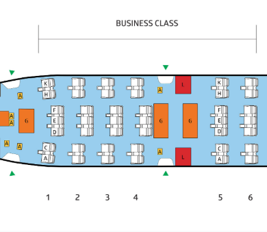 Philippine Airlines Business Class Seat Recommendations