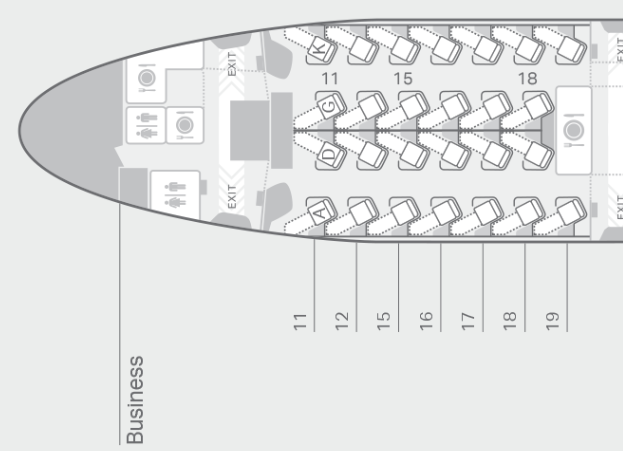 Cathay Pacific Business Class Seat Recommendations