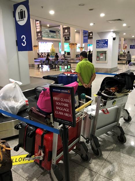 Singapore Airlines Post-flight Concierge Service