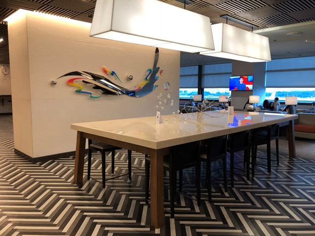 NAIA Terminal 3 Silverkris Lounge Sitting Area