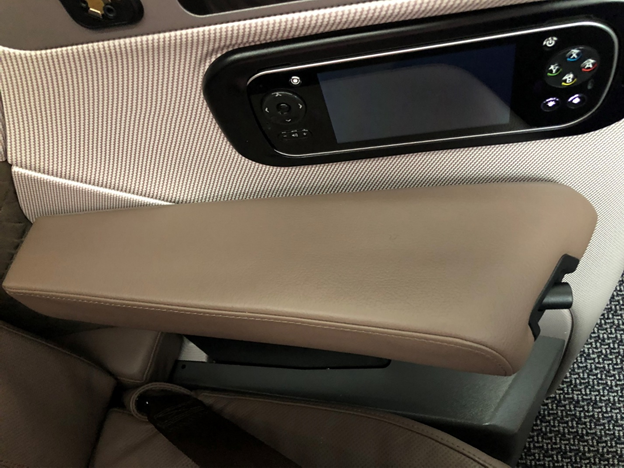 IFE Remote and Armrest