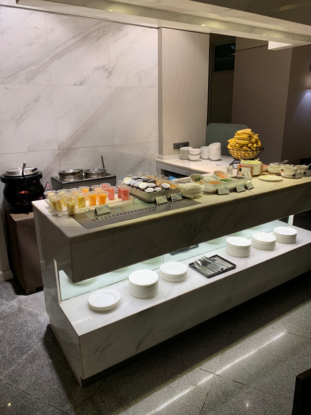 Mabuhay Lounge Desserts Table