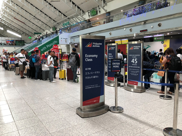 Philippine Airlines Check In Counters