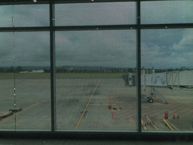 Obstructed View of the Apron