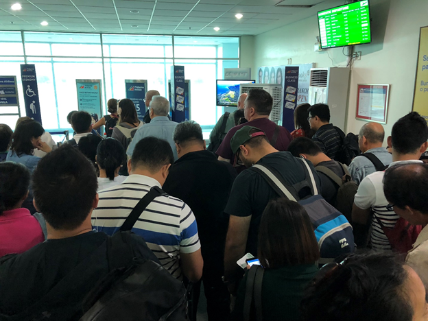 Chaotic Boarding