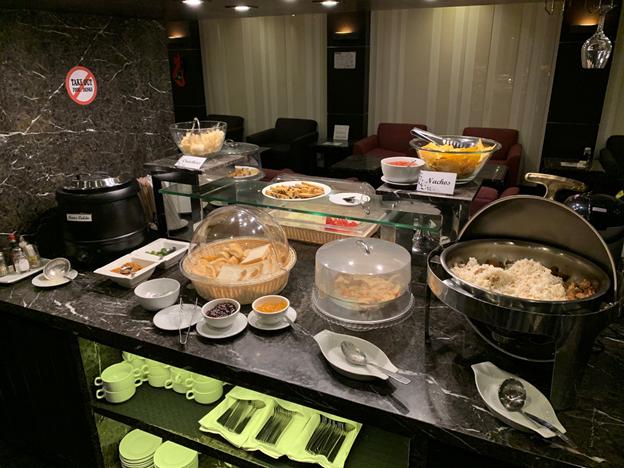 Club Manila Buffet Table