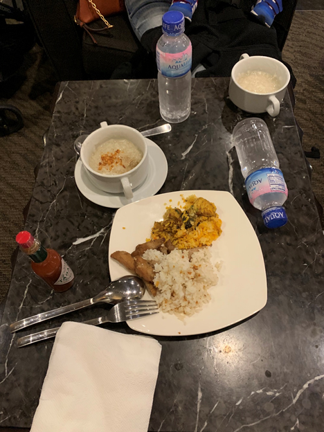 Club Manila Food