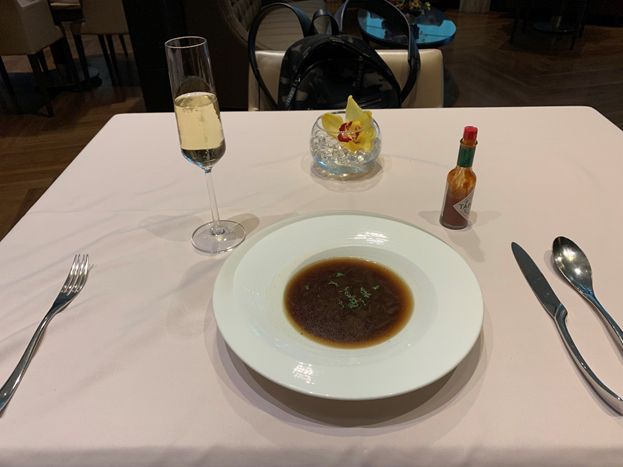 The Private Room Dishes