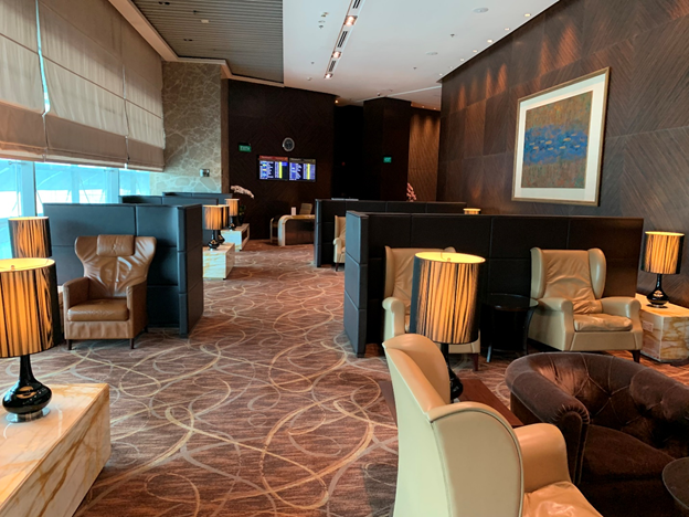 The Private Room Sitting Area