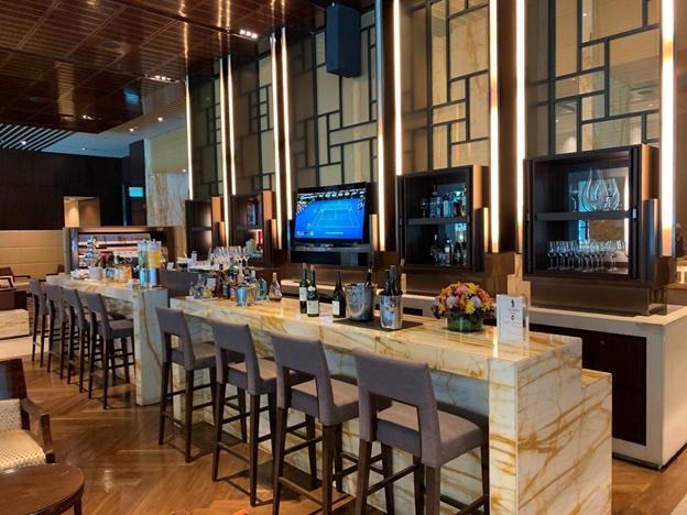 SilverKris Lounge First Class Lounge Bar
