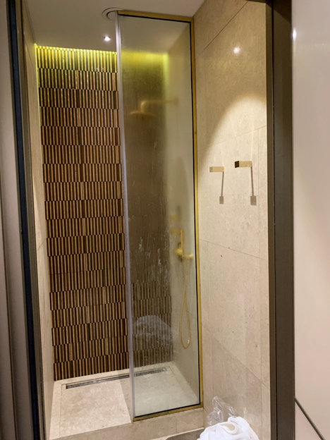 Business and First-Class Lounge Shower Room