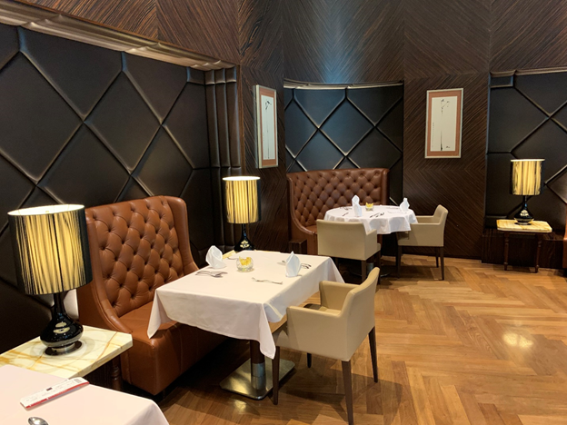 The Private Room Dining Area