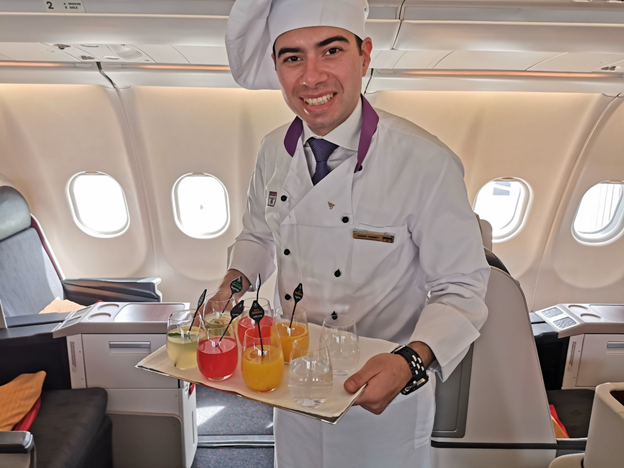 Turkish Airlines Flying Chef