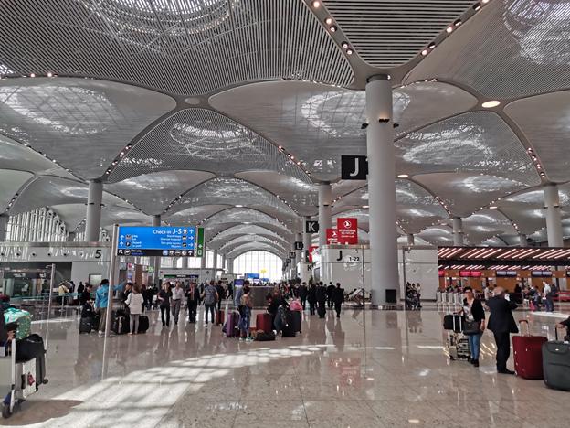 Istanbul Airport Interior