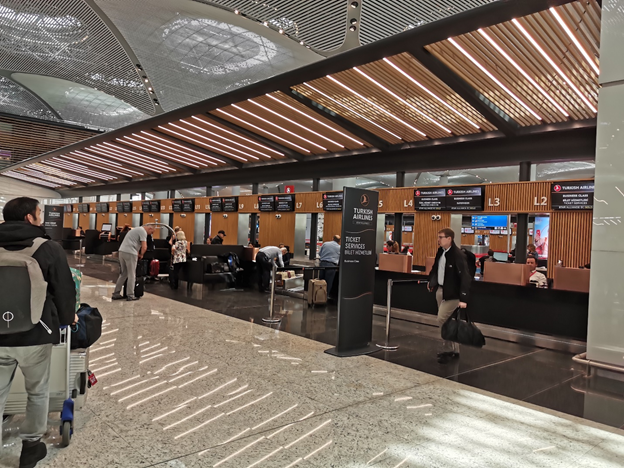 Istanbul Airport Check In Counters