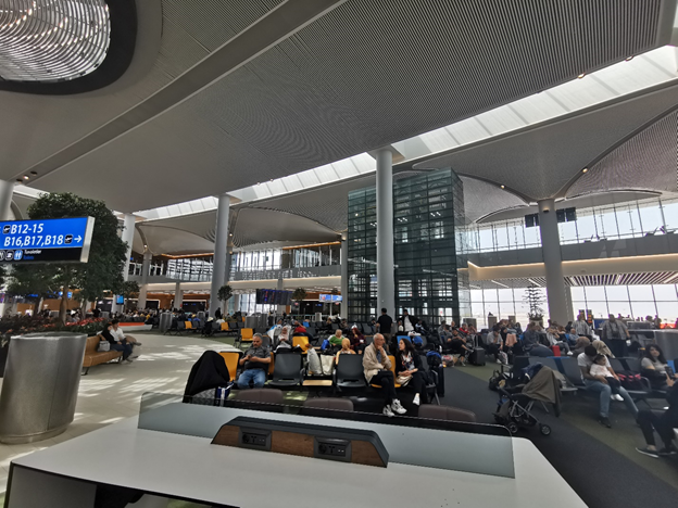 Istanbul Airport Sitting Area