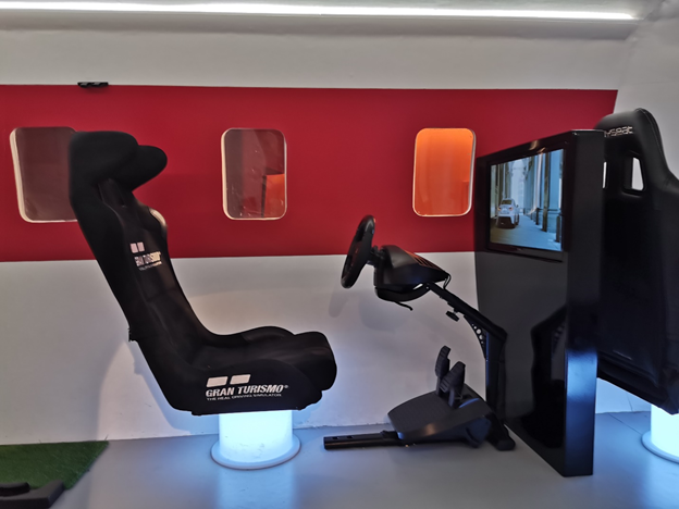 Turkish Business Lounge VR Racing