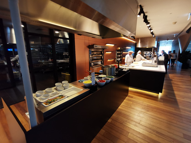 Turkish Business Lounge Food Stations