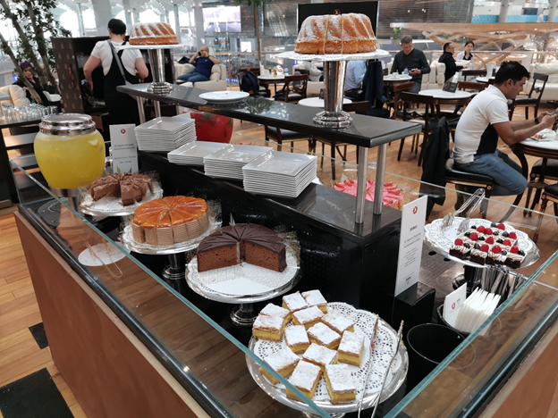 Turkish Business Lounge Dessert Table