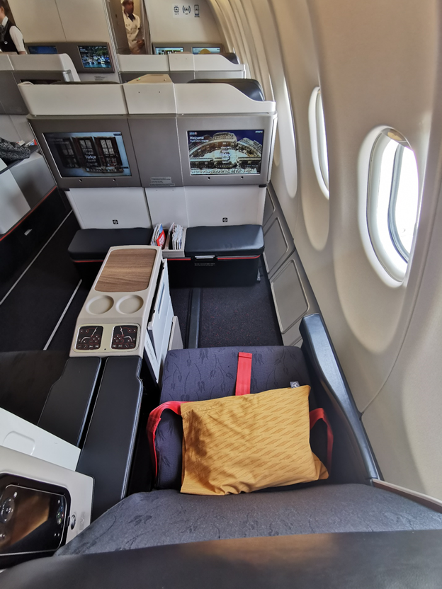 Turkish Airlines Business Class Seats