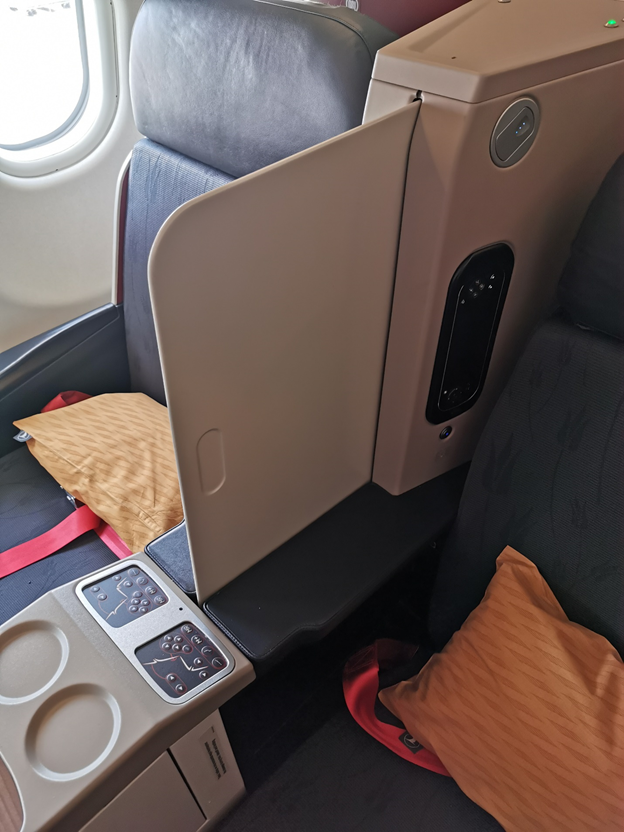 Partition Between seats