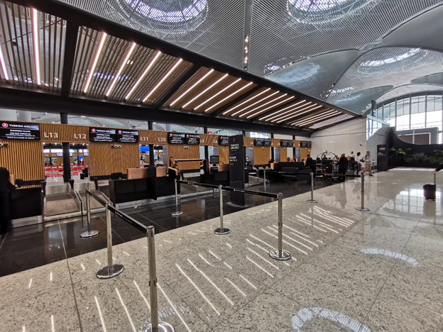 Istanbul Airport Check-in Counters