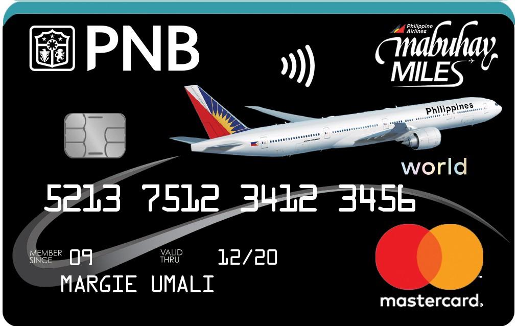 PNB-PAL Mabuhay Miles Mastercard