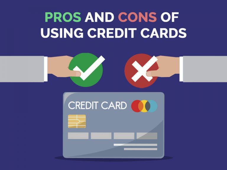 PROs and CONs of Using Credit Cards