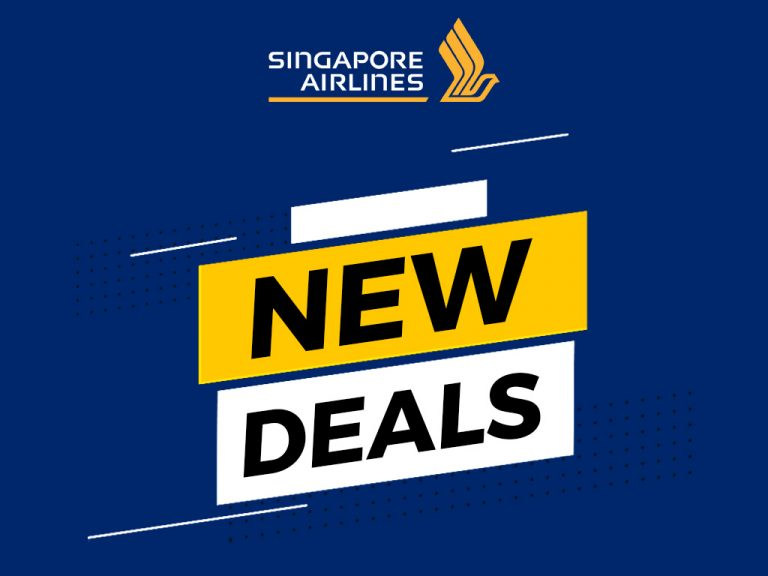Singapore Airlines Promo - New Deals