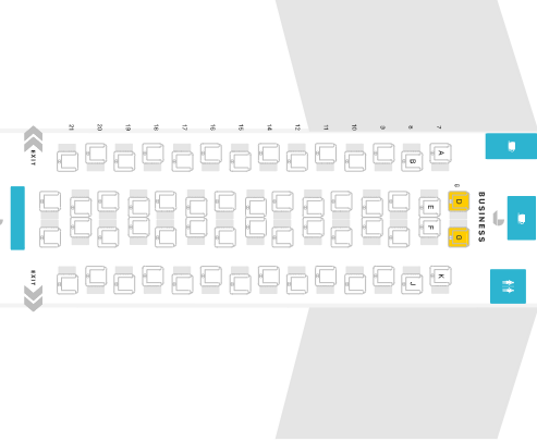 Emirates Business Class Seat Plan