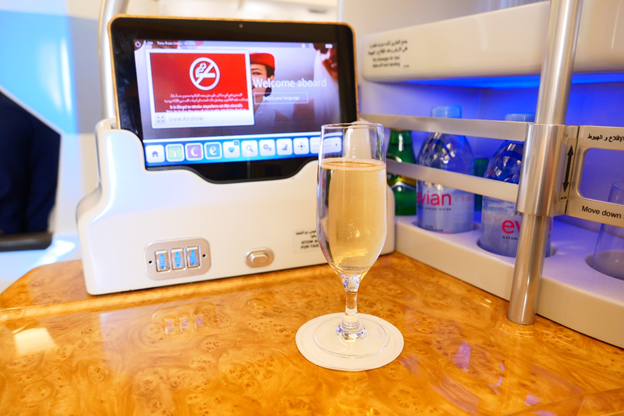 Emirates Welcome Drink