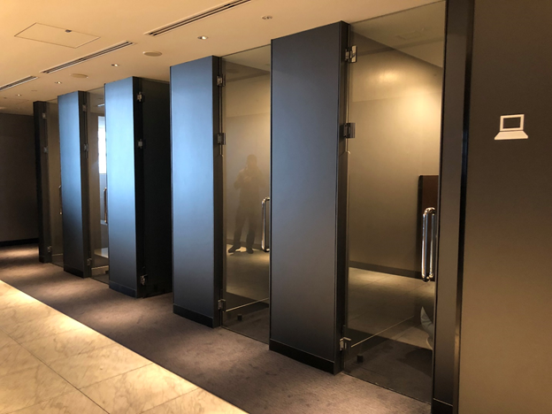 ANA Suite Lounge Private Pods