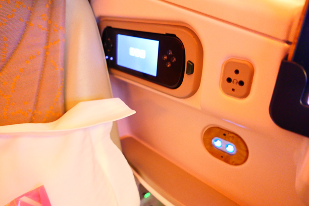 Emirates Business Class IFE Remote