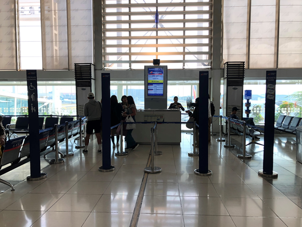 NAIA Boarding Area