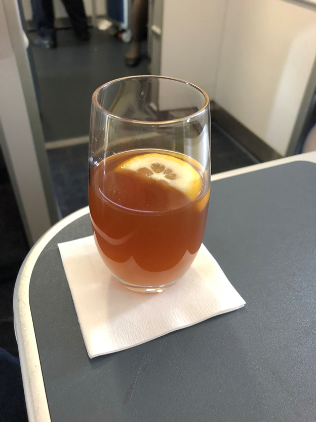 Business Class Welcome Drinks