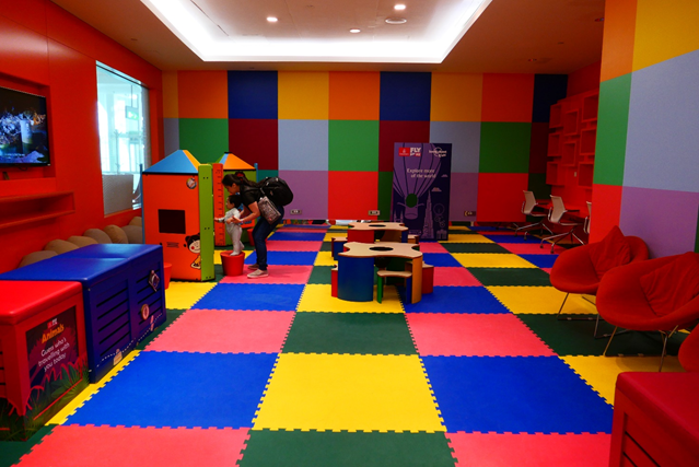 Emirates First Class Lounge  Playroom