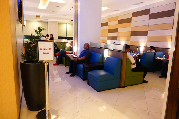 SKY VIEW Lounge Business Class Section
