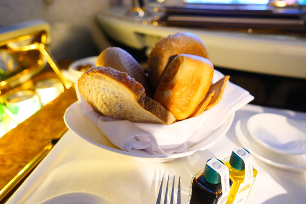 Emirates First Class Basket of Bread